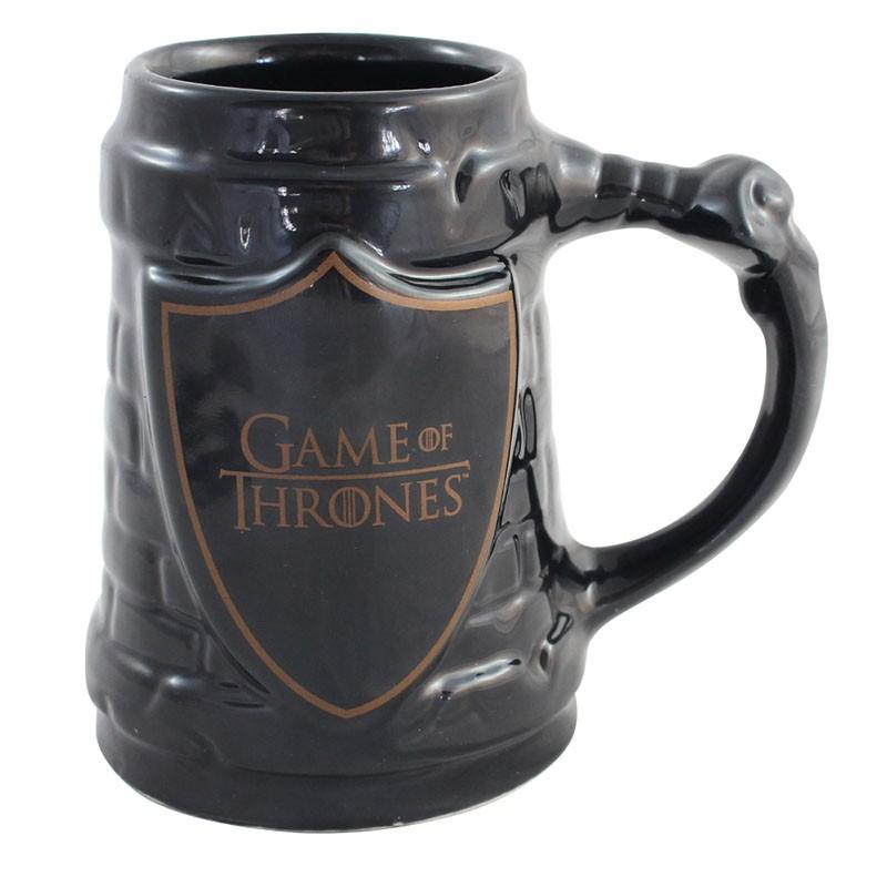 Caneca 3D Targaryen Escudo