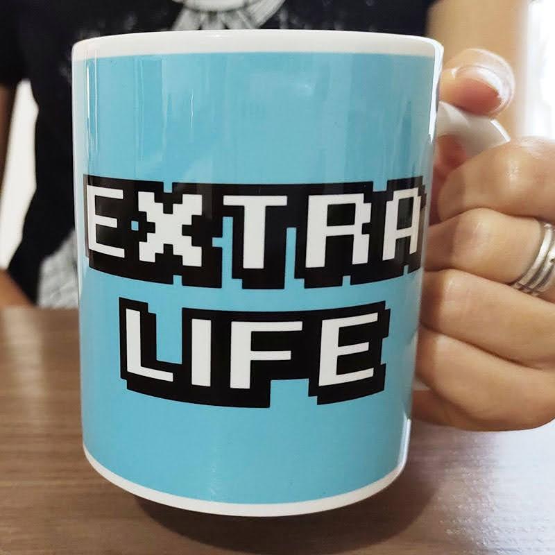 Caneca Geek Extra Life