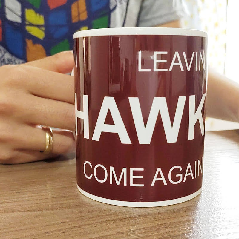 Caneca Leaving Hawkins