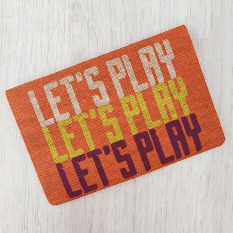 Carteira Fininha RG Let's Play - Ecológica