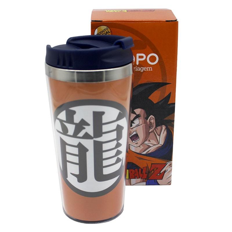 Copo para Viagem Goku Dragon Ball Z