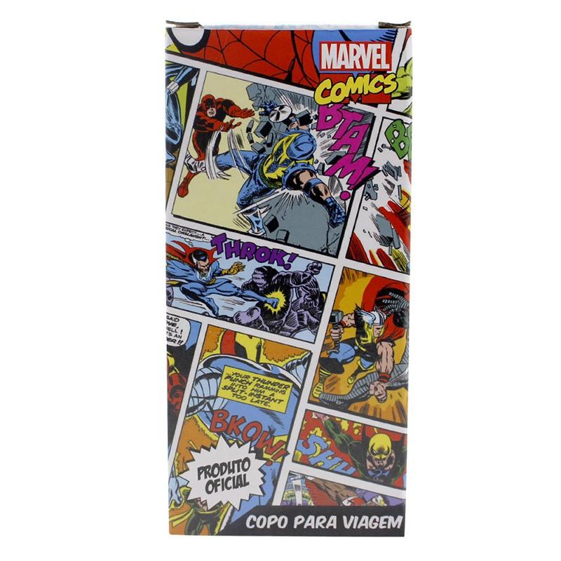 Copo para Viagem Marvel Comics Heróis