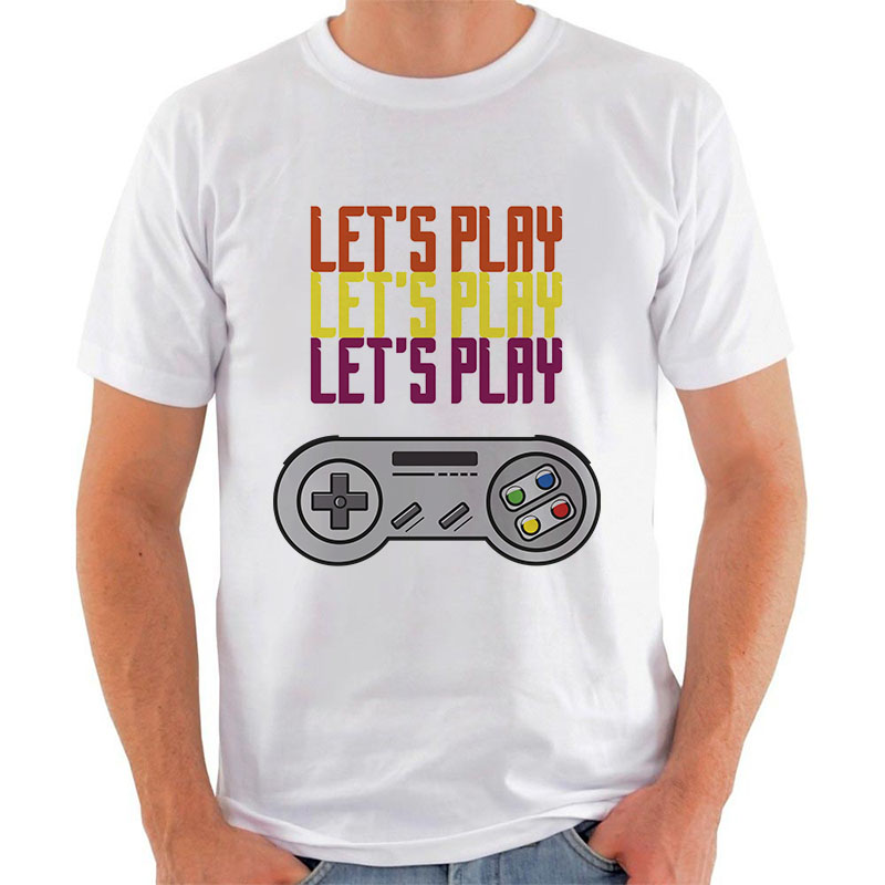 Dia dos Namorados: 2 Camisetas Let's Play