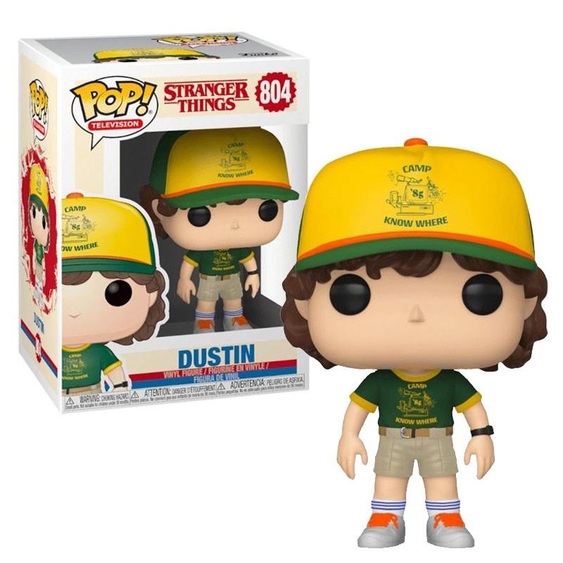 Funko Pop Dustin Stranger Things 3 - 804