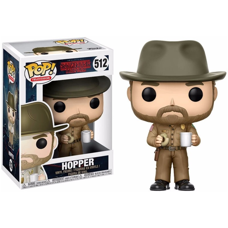 Funko Pop Hopper Stranger Things - 512