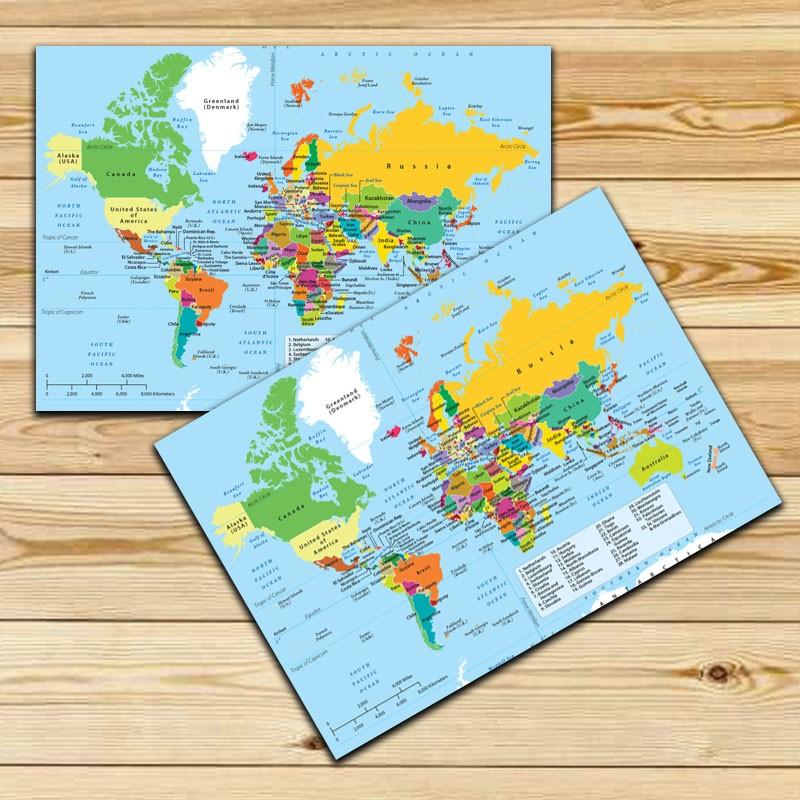 Jogo Americano Mapa Mundi