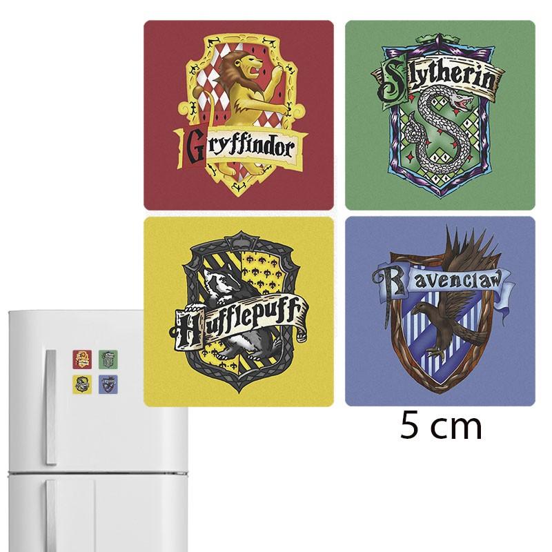 Jogo de Imã de geladeira Casas de Hogwarts