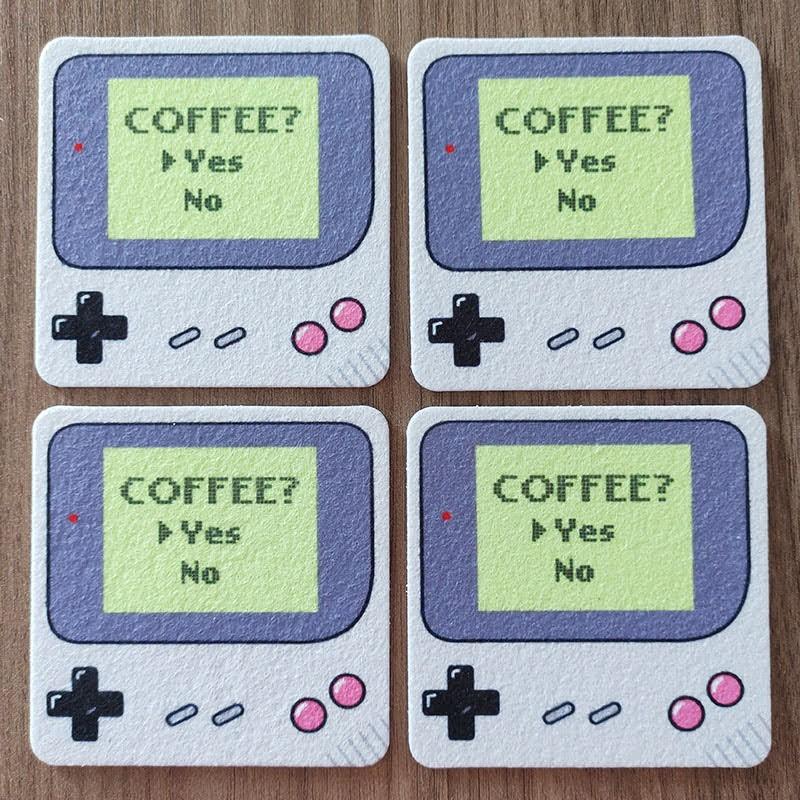 Jogo de Porta Copos - Coffee Boy