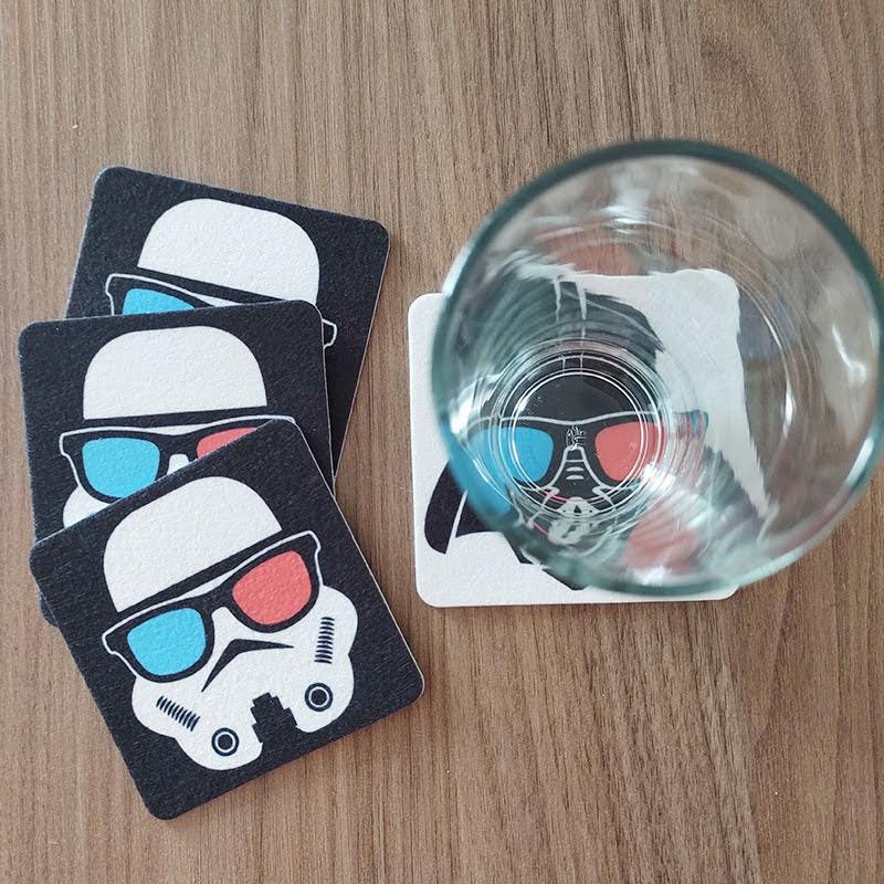 Jogo de Porta Copos Galactic Side