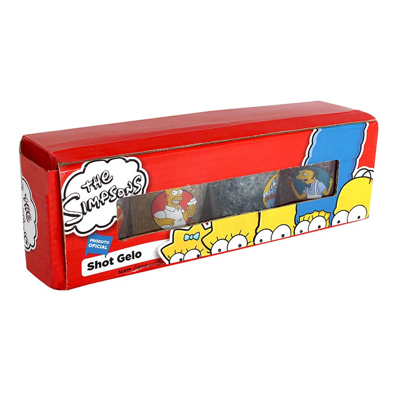 Kit de Shot Homer Simpson e Amigos