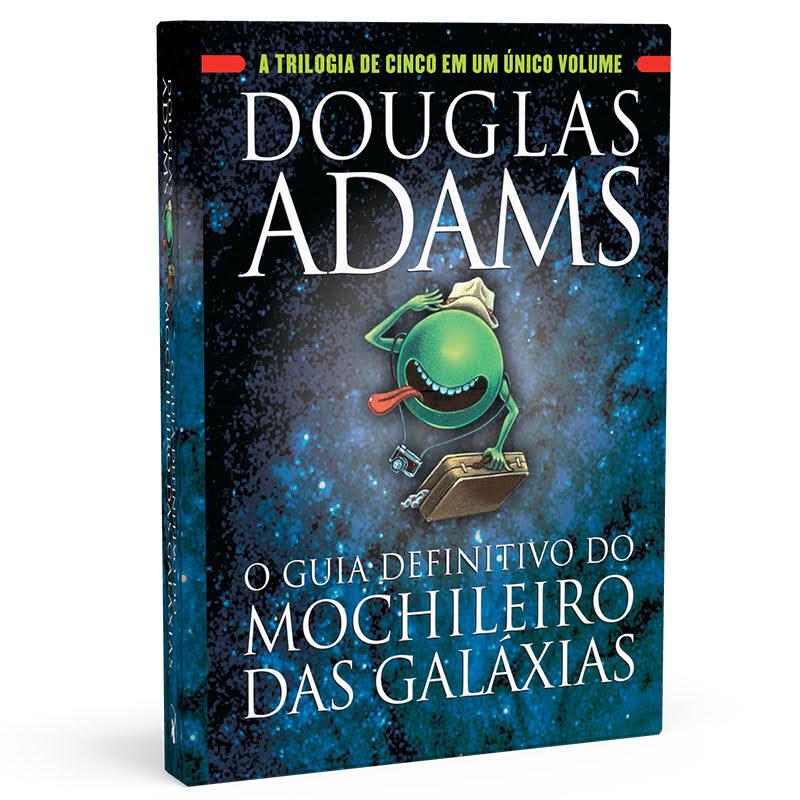 O Guia Definitivo do Mochileiro das Galáxias - Capa Clássica