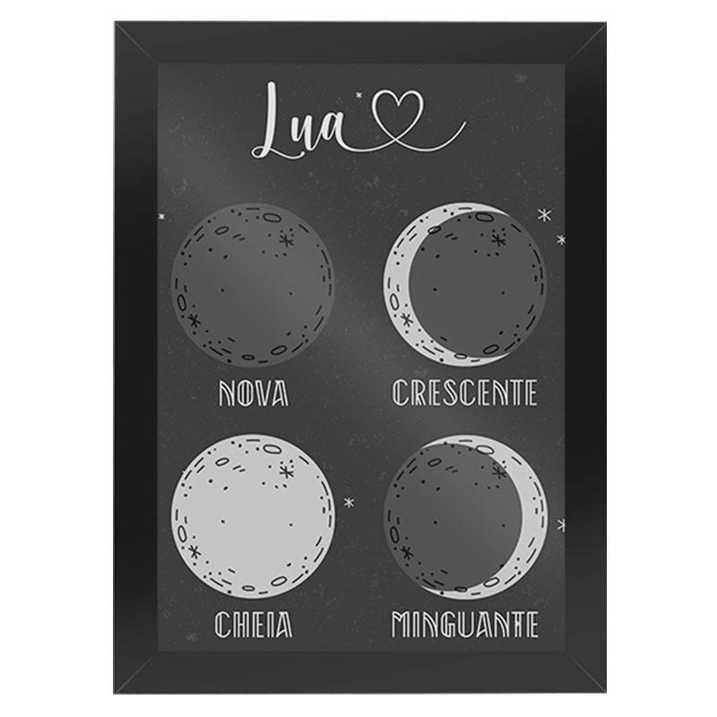 Quadro Fases da Lua
