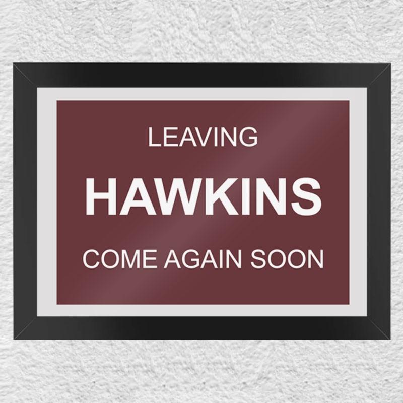 Quadro Geek Leaving Hawkins