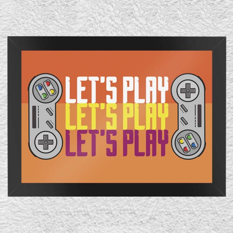 Quadro Let's Play