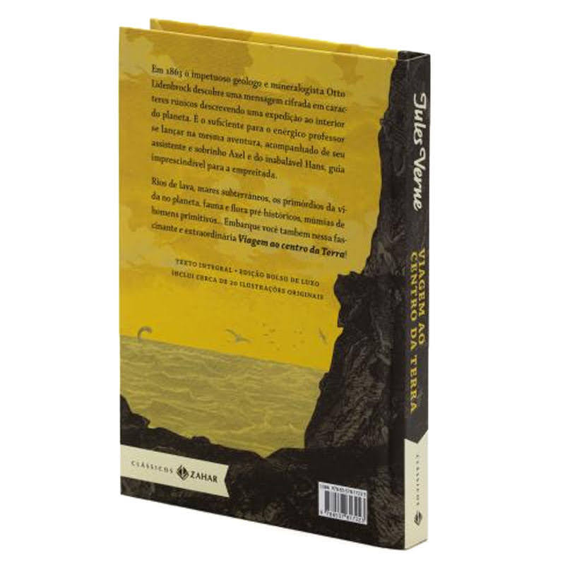 Viagem ao Centro da Terra: Edição Bolso de Luxo