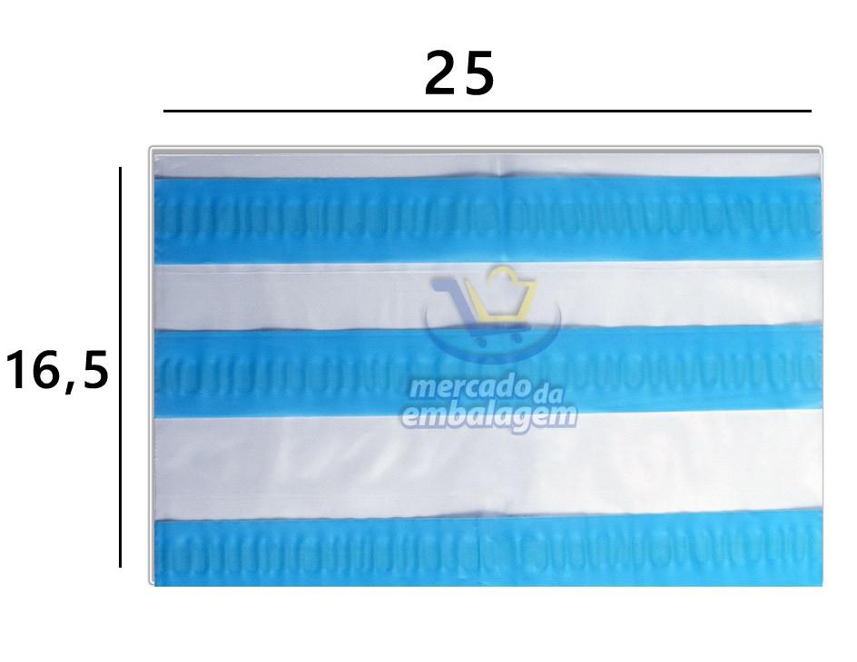 Envelope 3 Linhas AWB Danfe para Notas Fiscais 25 X 16,5 cm
