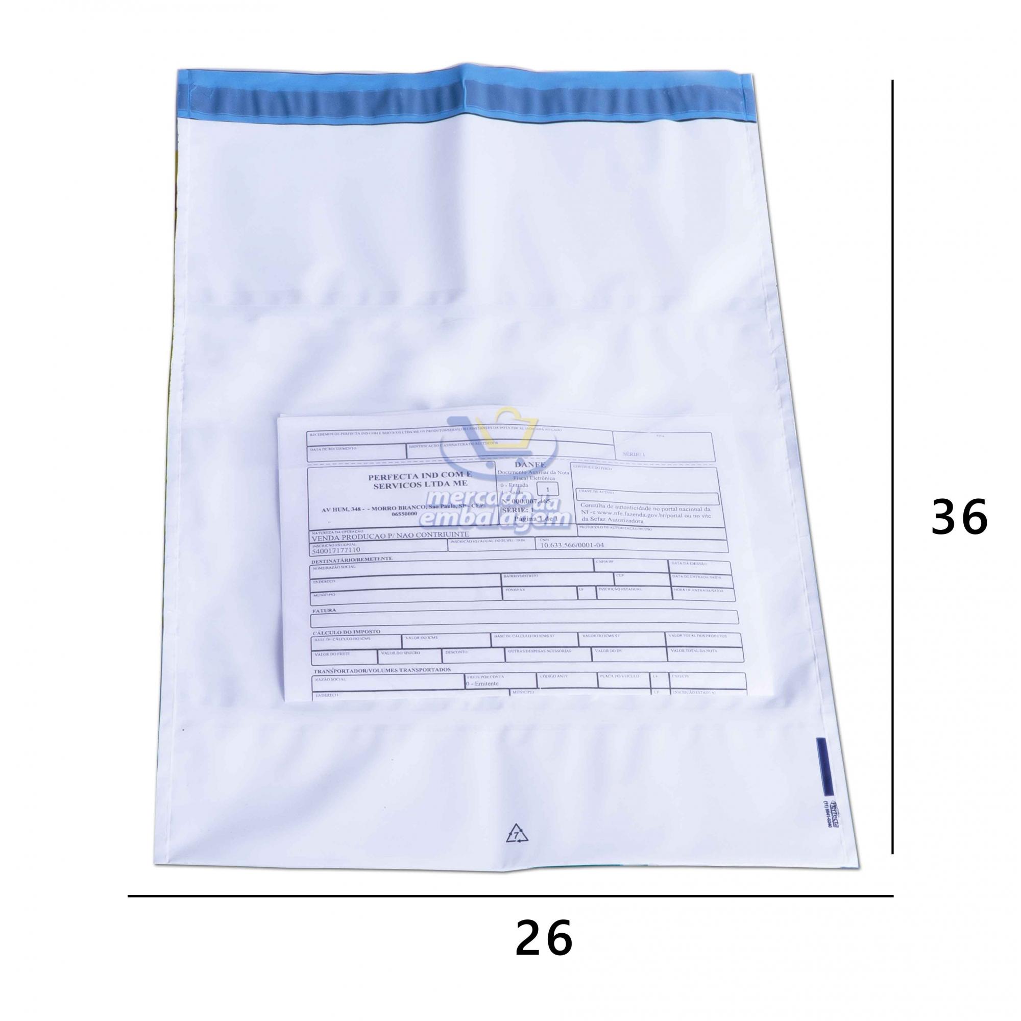 Envelope de Segurança com Bolsa 26 X 36 cm