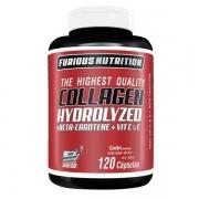 Collagen Hydrolyzed Furious Nutrition 120 cápsulas