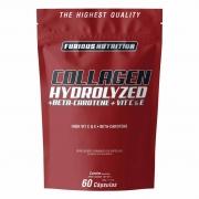 Collagen Hydrolyzed Furious Nutrition 60 cápsulas