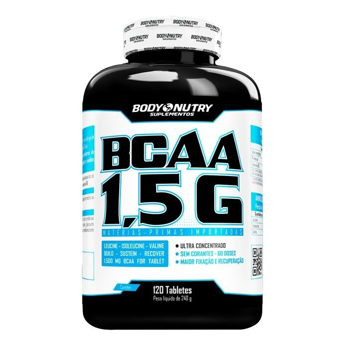 BCAA 1,5 G Body Nutry 120 tabletes