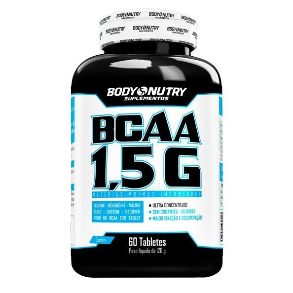 BCAA 1,5 G Body Nutry 60 tabletes