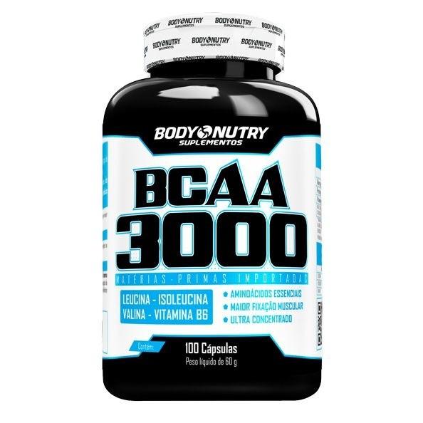 BCAA 3000 Body Nutry 100 cápsulas
