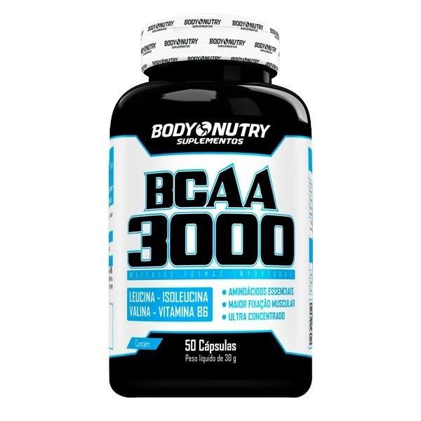 BCAA 3000 Body Nutry 50 cápsulas