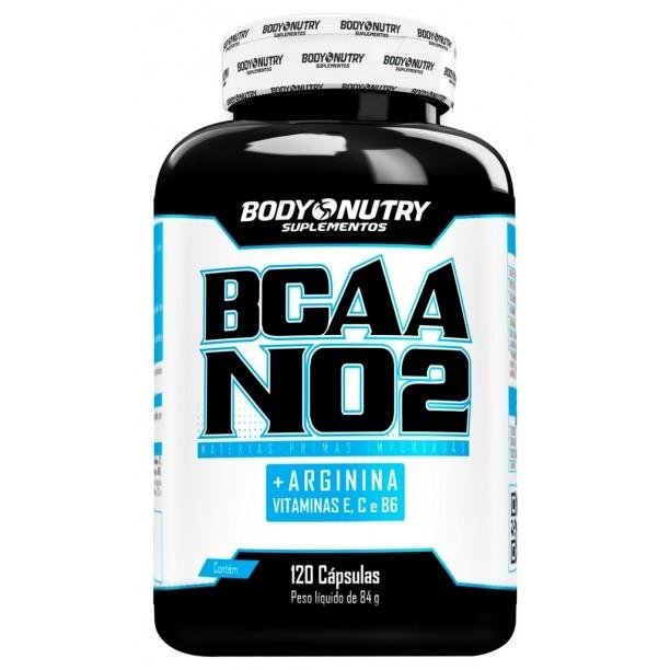 BCAA NO2 Arginina Body Nutry 120 cápsulas