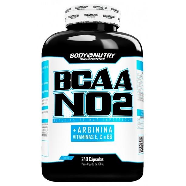 BCAA NO2 Arginina Body Nutry 240 cápsulas