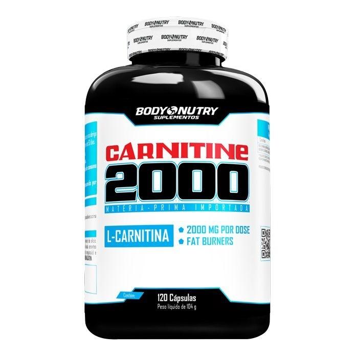 Carnitine 2000 Body Nutry 120 cápsulas