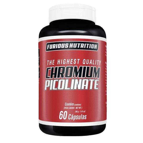 Chromium Picolinate furious Nutrition 60 cápsulas