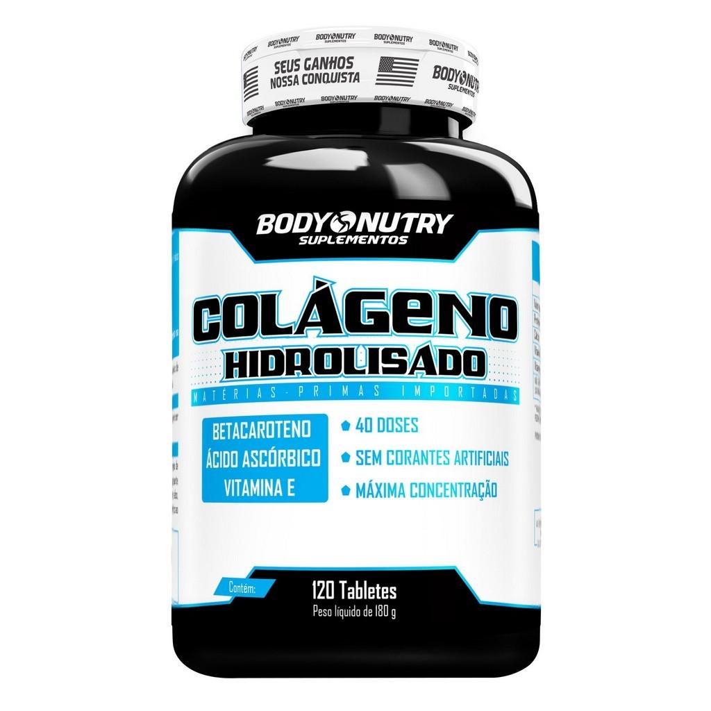 Colageno Hidrolisado Body Nutry 120 tabletes