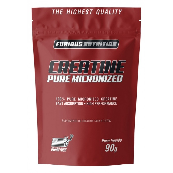 Creatine Pure Micronized Furious Nutrition refil 90 g