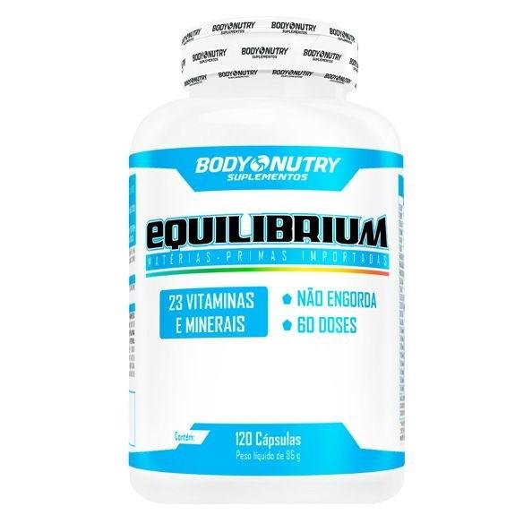 Equilibrium  Clinical Body Nutry 120 cápsulas