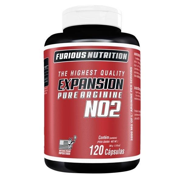 Expansion Pure Arginine Furious Nutrition 120 cápsulas