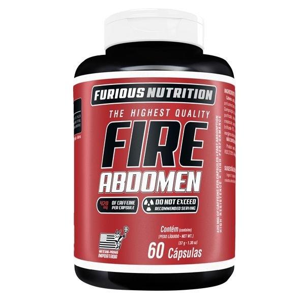 Fire Abdomen Furious Nutrition 60 cápsulas