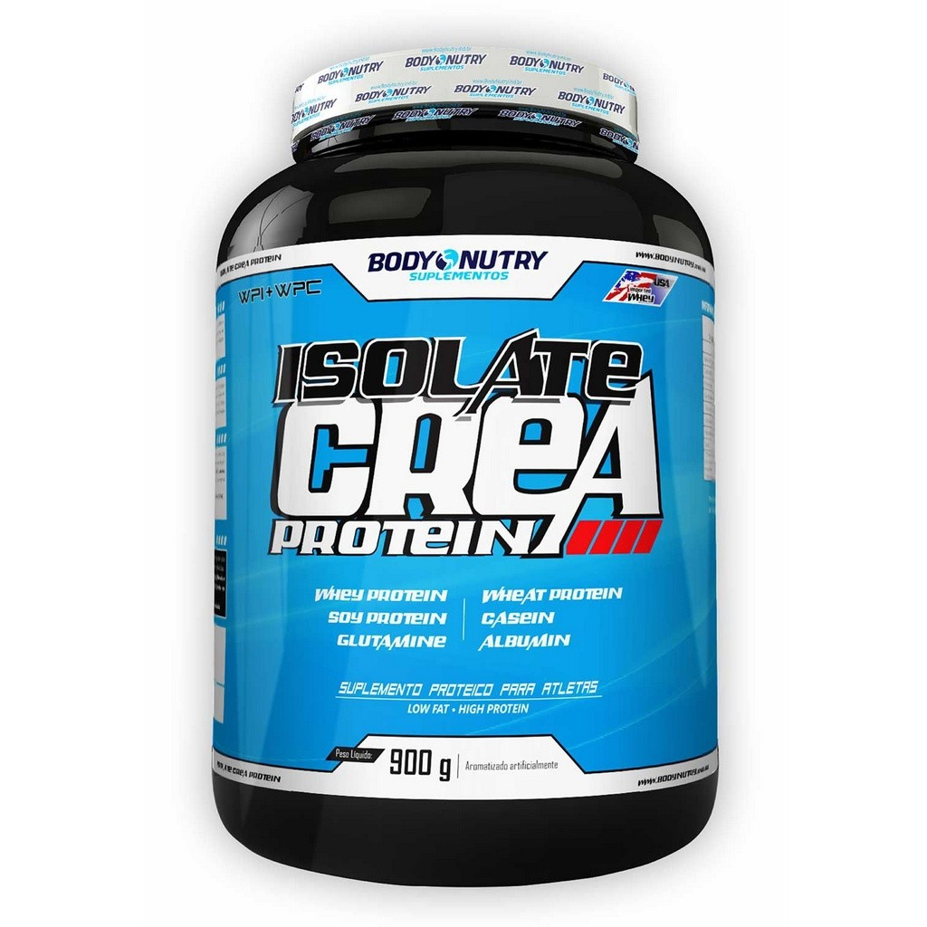 Isolate Crea Protein Body Nutry 900 g