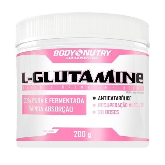L-Glutamine Feminy Body Nutry 200 g