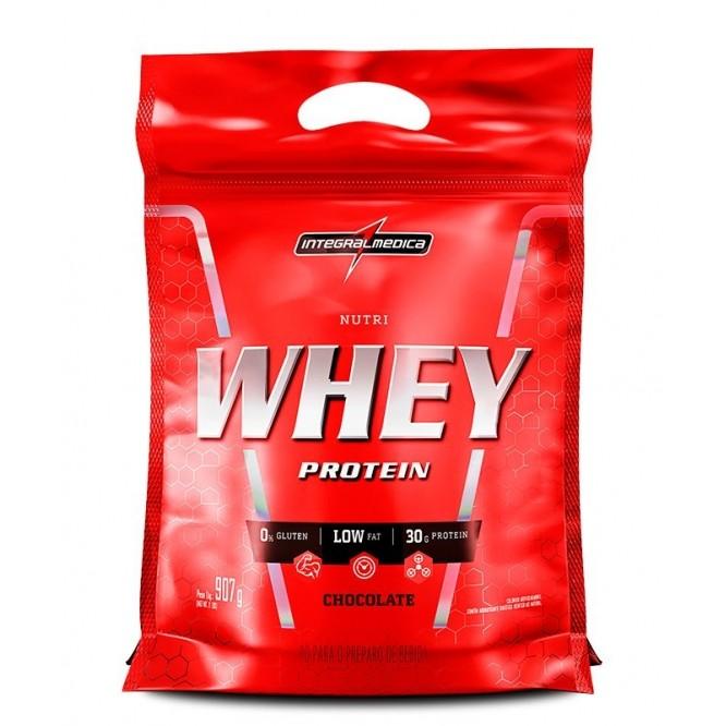 Nutri Whey Protein Integral Médica refil 907 g