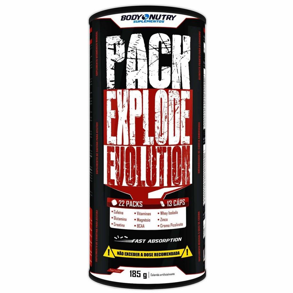 Pack Explode Evolution Body Nutry 22 packs