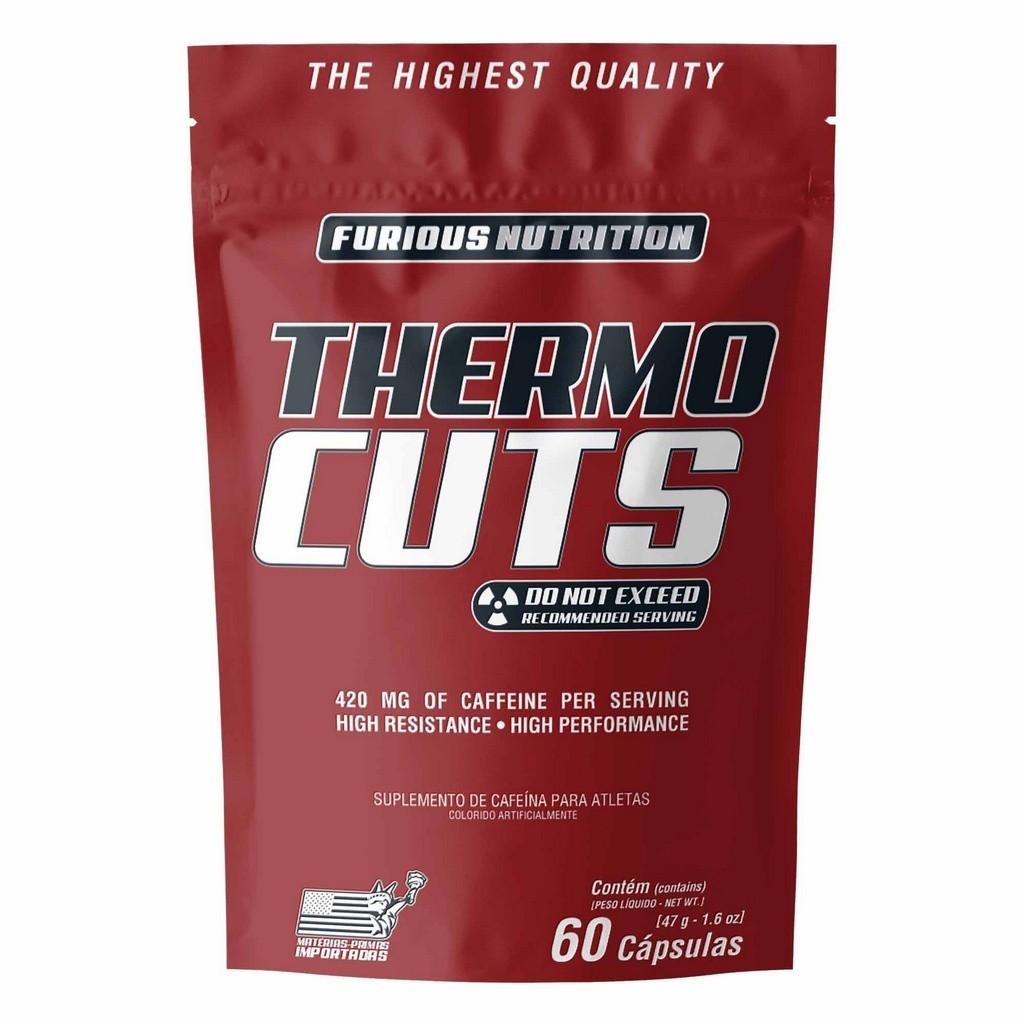 Thermo Cuts Furious Nutrition refil 60 cápsulas