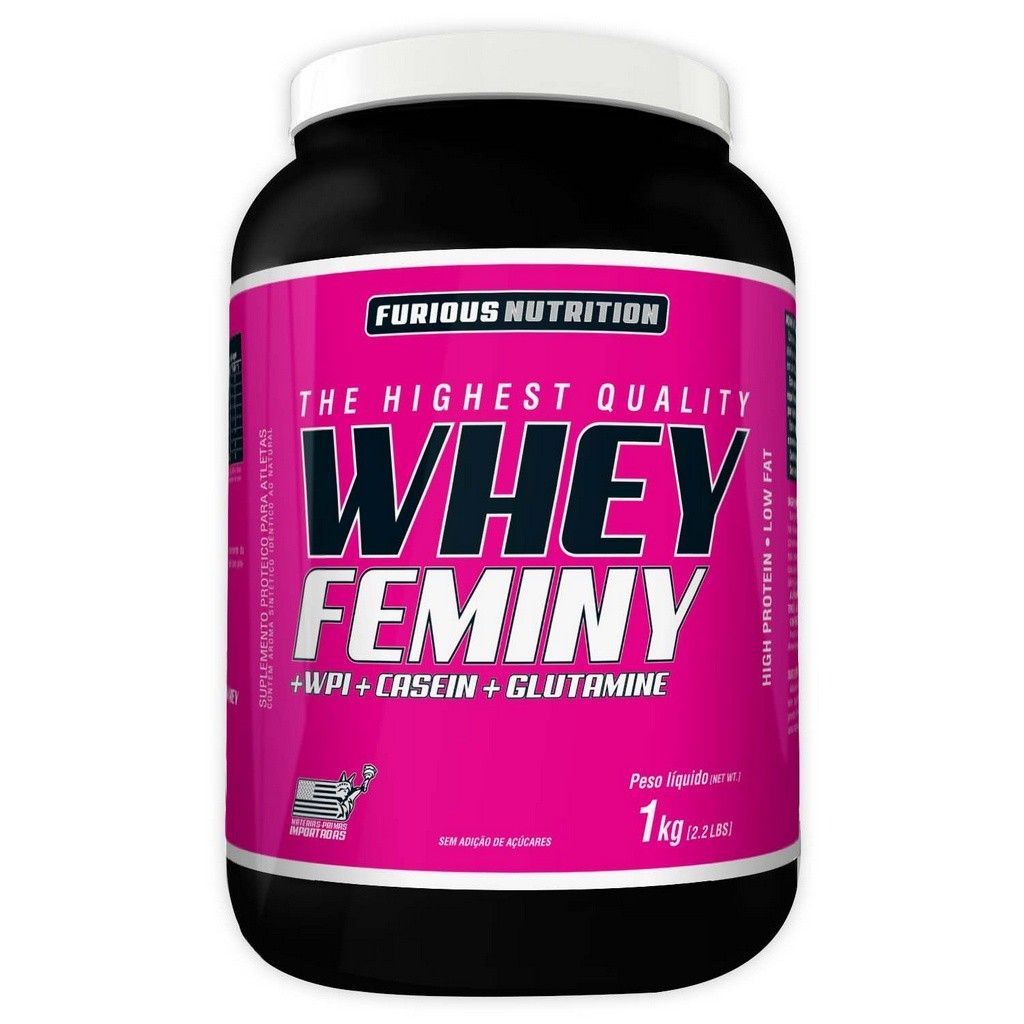 Whey Feminy Furious Nutrition 1 kg