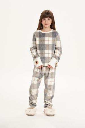 Cor com amor pijama infantil em fleece 67505