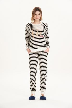 Cor com amor pijama longo soft 12500