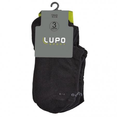 LUPO - Kit 3 Sapatilha - 3270 P