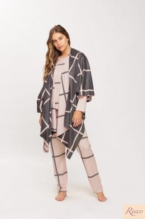 Recco pijama pijama confort flanelado 14609