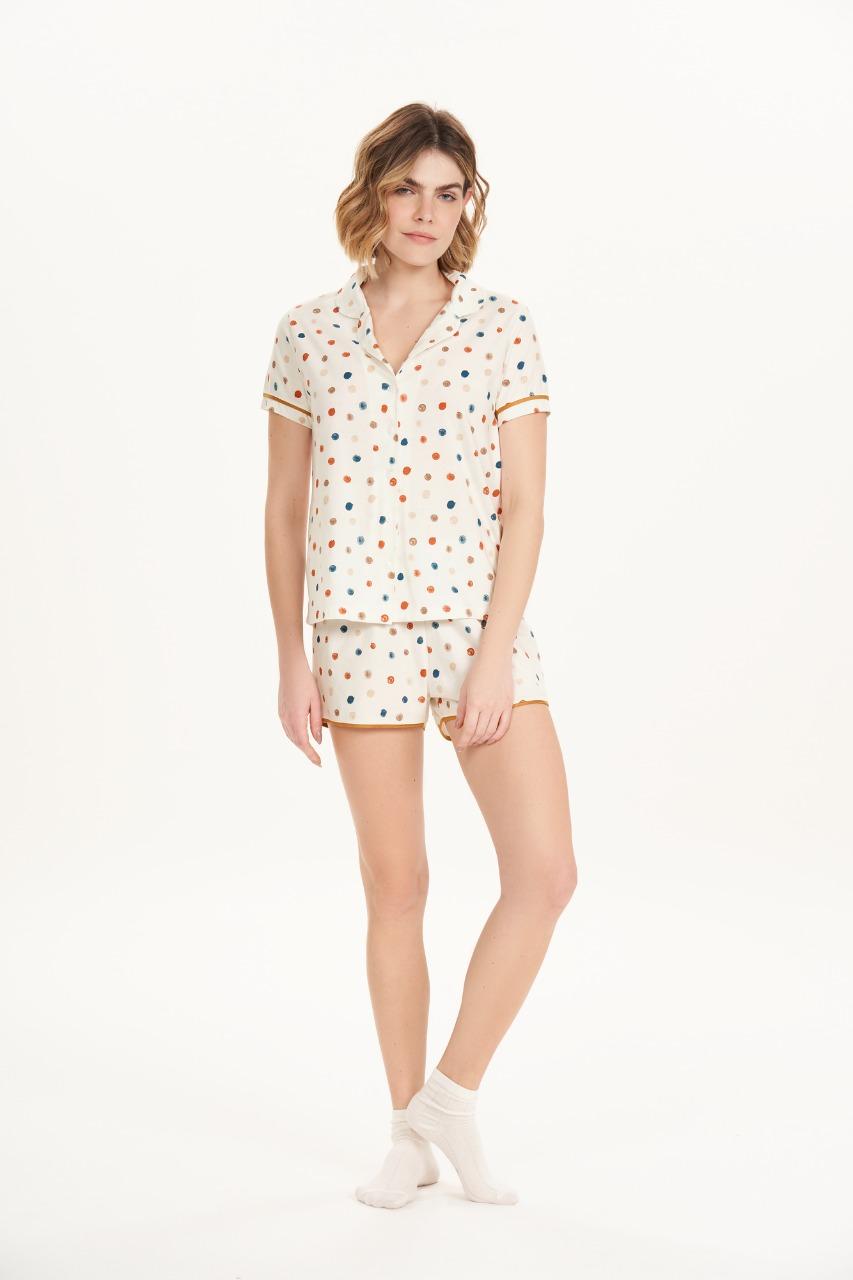 Cor com amor pijama curto 12540