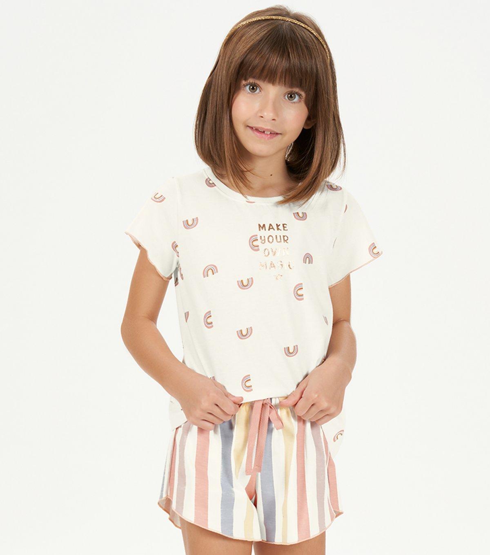 Cor com Amor Pijama Curto infantil 67534
