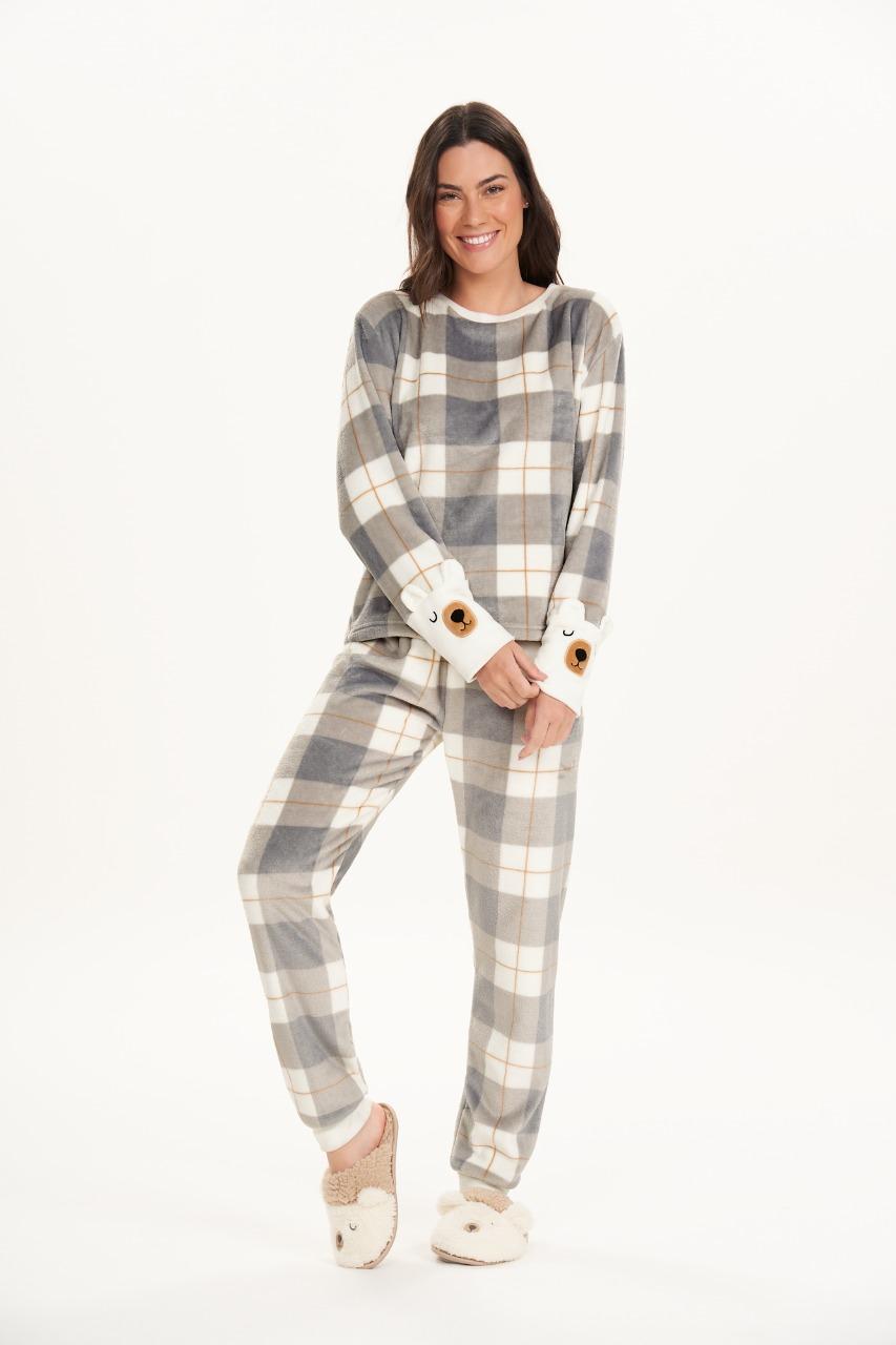 Cor com amor pijama em fleece bear hug 12495