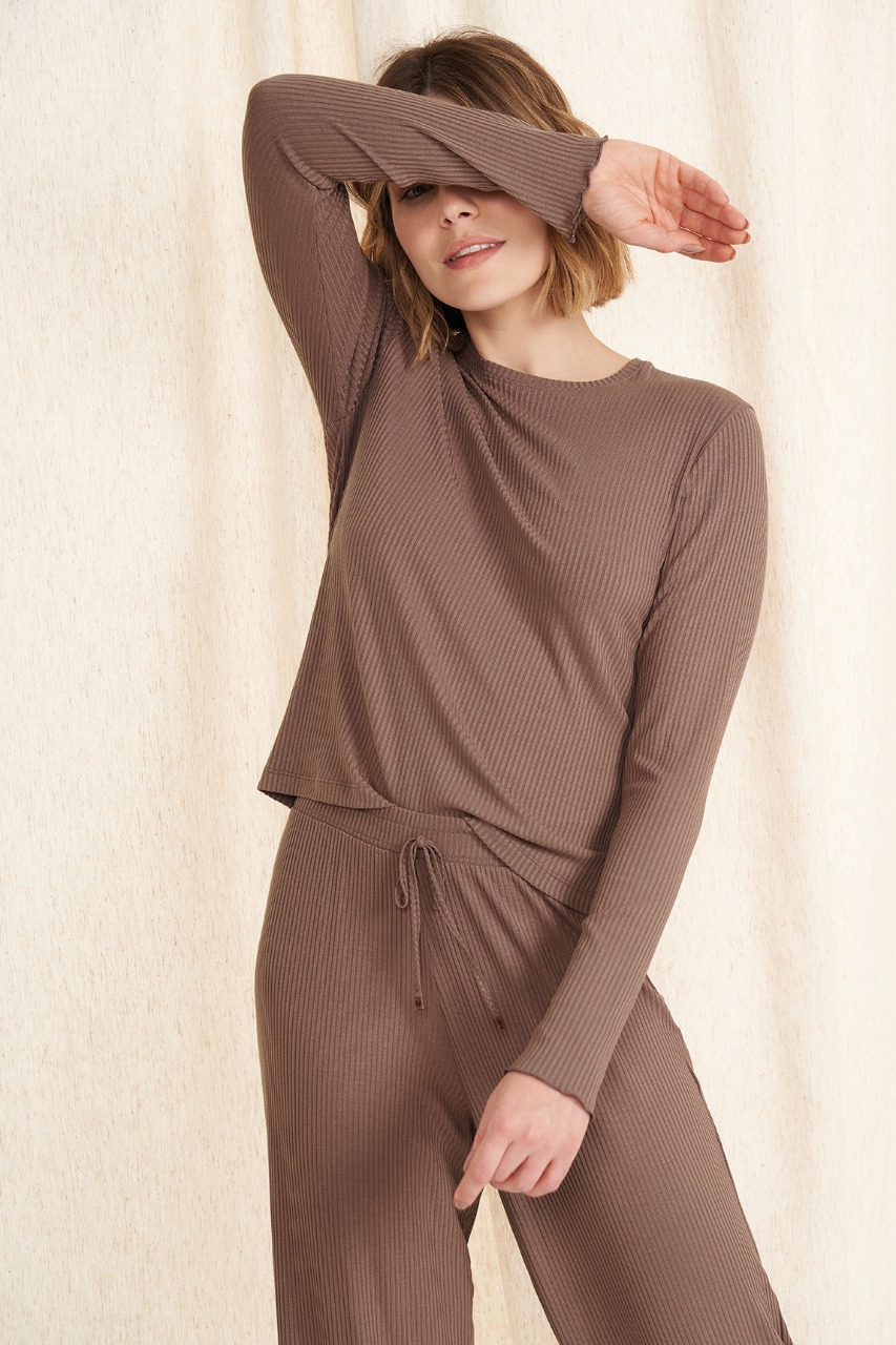 Cor com amor pijama longo 12537
